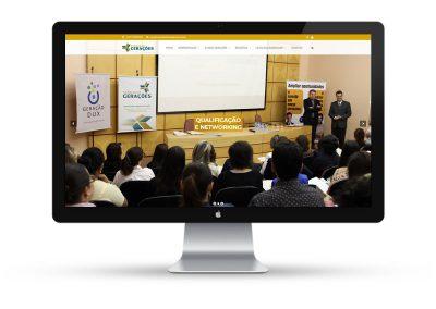 Fundação Gerações – Website