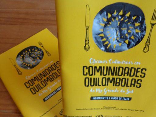 Oficinas Culinárias em Comunidades Quilombolas do RS – Cartilha