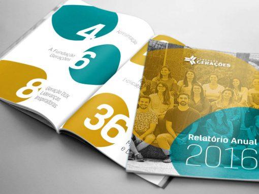 Relatório de Atividades Fundação Gerações 2016