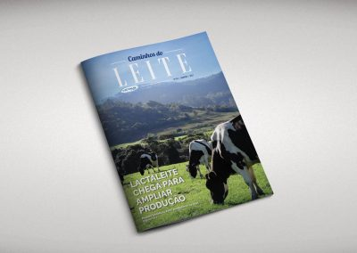 Revista Caminhos do Leite – Lactalis – Projeto Gráfico