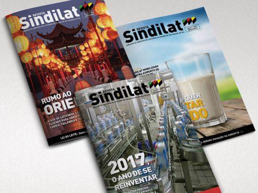 Revista Sindilat – Projeto Gráfico