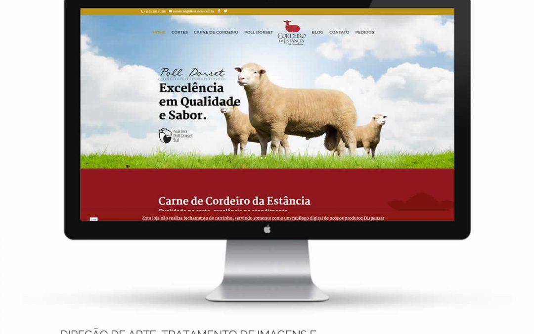 Cordeiro da Estância – Website em WordPress