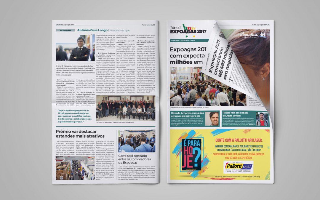 Jornal Expoagas 2017 – dia 1