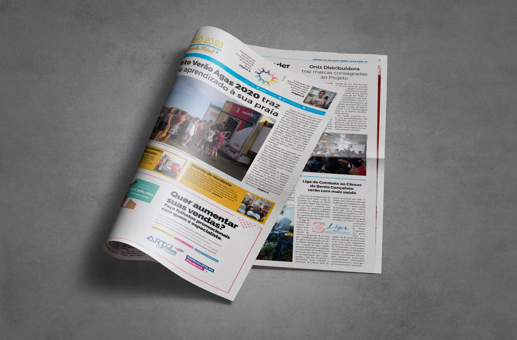Jornal Expoagas - edição verão 2020