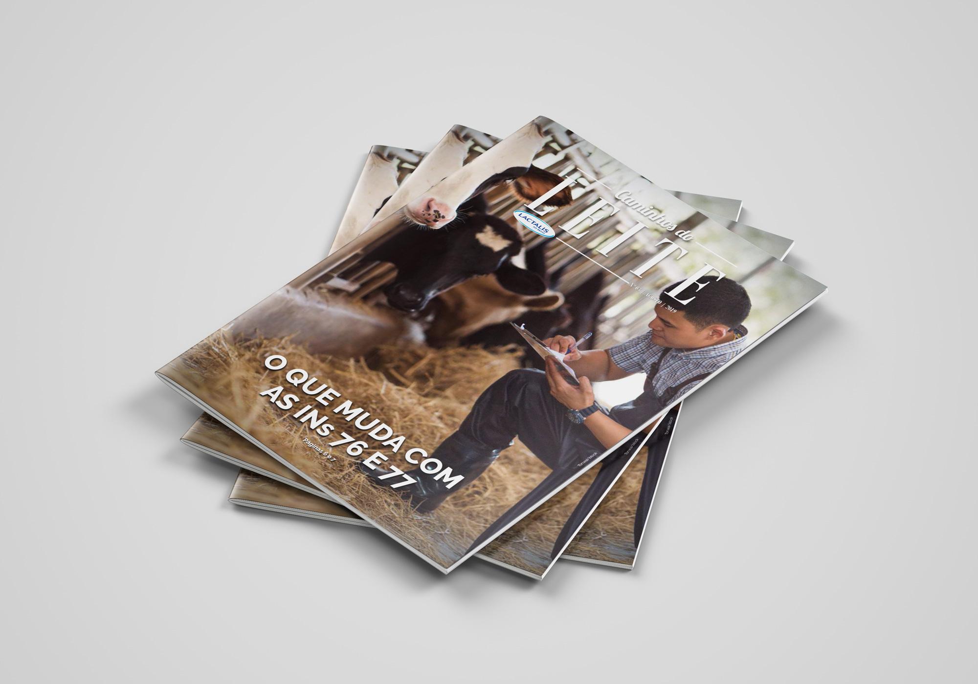Revista Caminhos do Leite - edição 5 - capa