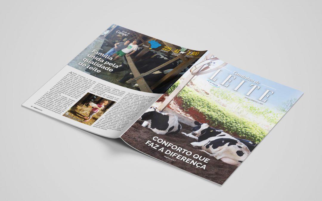 Revista Caminhos do Leite Lactalis – edição 6