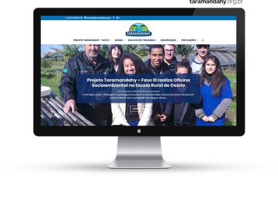Projeto Taramandahy – Website