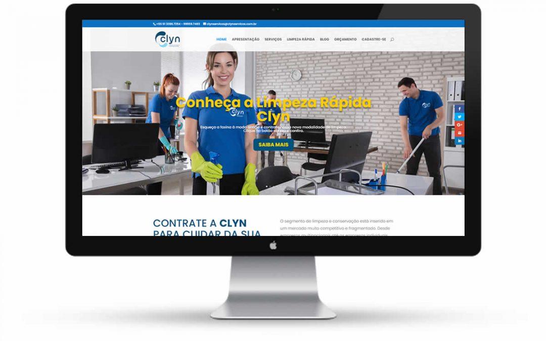 Clyn Serviços de Limpeza – Website