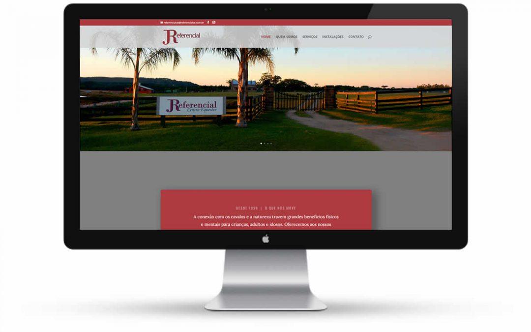 Referencial Centro Eqüestre – Website