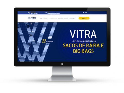 Máquinas Vitra – Website