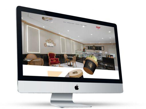 D'Oro Gelato e Café – website
