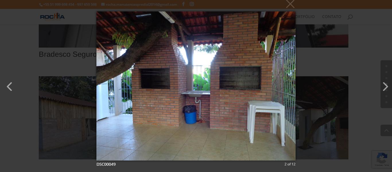 Módulo de galeria de imagens com abertura sobreposta (lightbox)